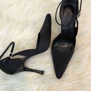 Aldo Black Strappy Heels Ladies SZ 8